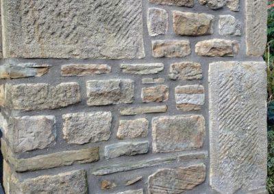 Stone re-pointing Bury