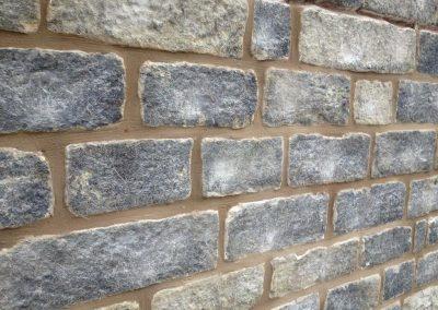 Stone re-pointing - Bury