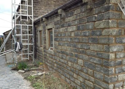 Stone Re-pointing - Bury