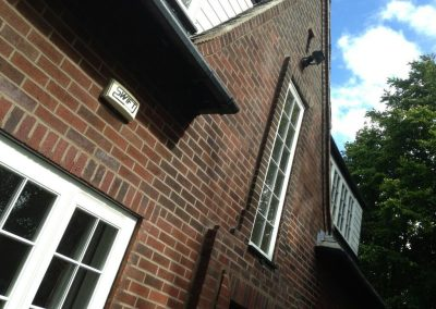 Rustic brick re-pointing Padiham