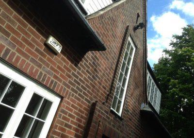 Rustic brick re-pointing Padiham
