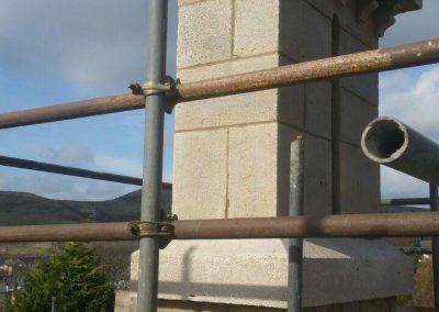 Chimney re-pointing - Rawtenstall