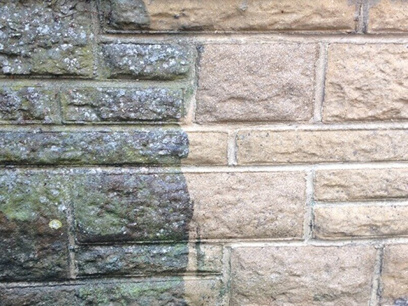 stone and brickwork cleaned