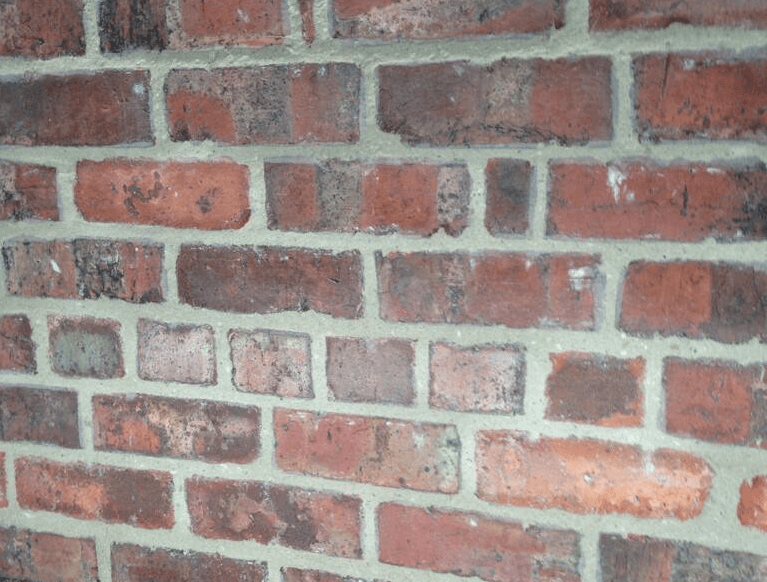 Brickwork repointed